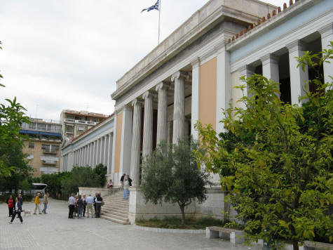 National Archaeological Museum in Athens Greece