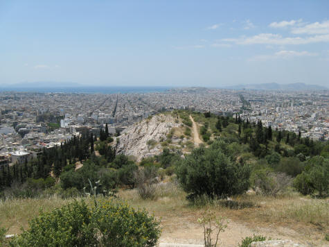 Hill of the Muses, Athens Greece