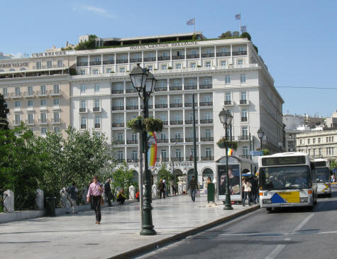 Athens City Centre Hotels. Popular hotel districts in central Athens include
