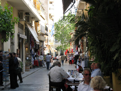 Hotels in the Monastiraki District of Athens