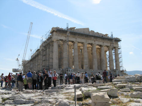 Parthenon in Athens Greece