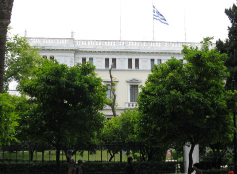 Presidential Residence in Athens Greece