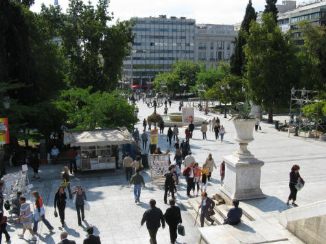 Syndagma Square, Athens Greece